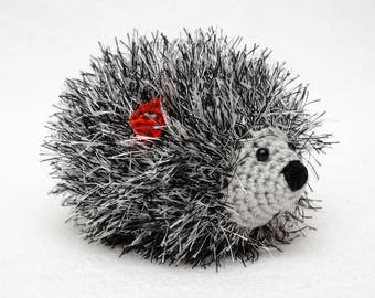 kids gift Hedgehog Baby toys Cute toy Baby Soft toy gift for baby Miniature toys Pet toys Plush Gift for kids Stuff animal amigurumi