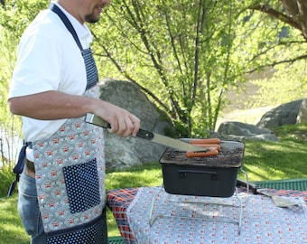 Grill Master apron pattern by Sugar Sisters Design