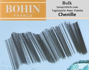 BULK Bohin CHENILLE Needles - Choose Quantity and Size