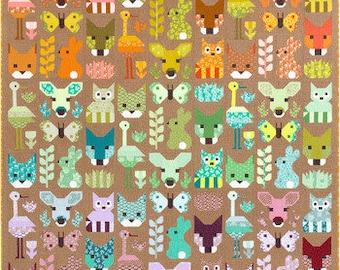 Quilt Kit: Delightful Desert featuring Terrarium by Elizabeth Hartman