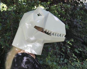 Velociraptor Paper Mask DIY