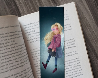 Luna Lovegood - Bookmark
