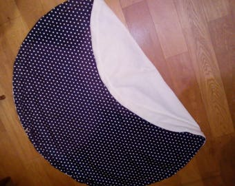 Play mat / backpack bag big nomadic pattern for baby & child reversible