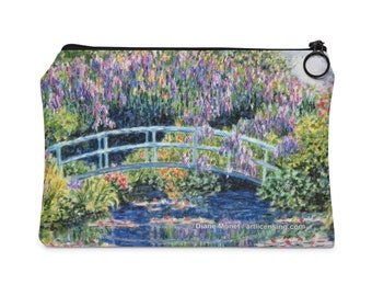 Diane Monet  Calm Afternoon  Carry All Pouch  Flat