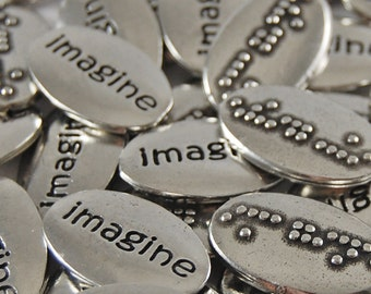 Imagine Braille Word Pebbles - SET OF 10