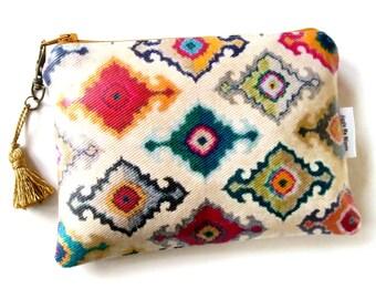 Waterproof pouch, Ikat Wallet/Purse