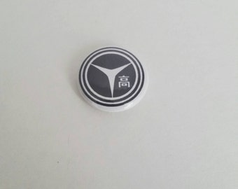 Persona 4 inspired 1 inch pinback button
