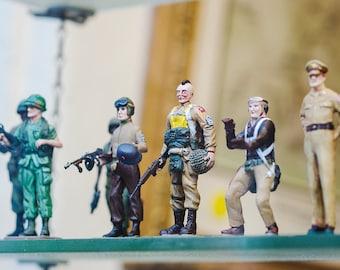 Army Men, Toy Soldiers Print, GI Joe Wall Art, Kids Room Wall Art, Vintage Toy Decor, Boys Bedroom, Loft Art, Nursery Decor, Military Decor