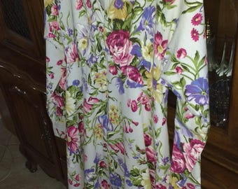 Colorful Floral Dress, SIZE 10
