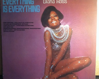 Diana Ross Everything Is Everything Vinyl Soul Record Album