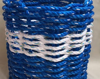 Small Rope Waste Basket