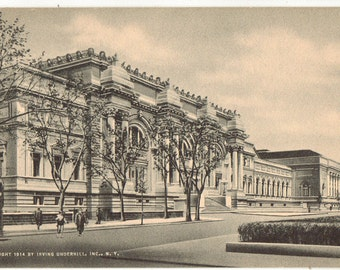 Vintage Postcard, New York City, Metropolitan Museum of Art, ca 1930