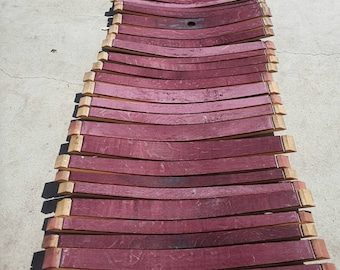 Wine barrel staves  Full barrels worth / Napa wine barrel approximately 26-28 staves