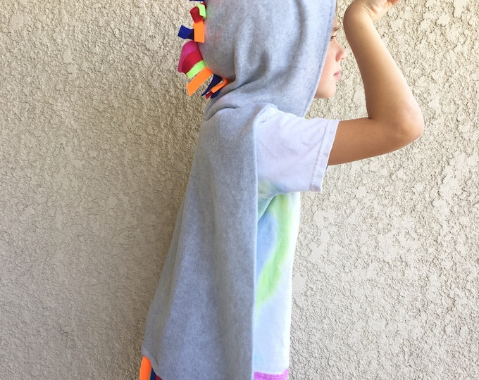 Featured listing image: Unicorn Cape, Halloween Costume or Dress Up Cape, Custom Colors