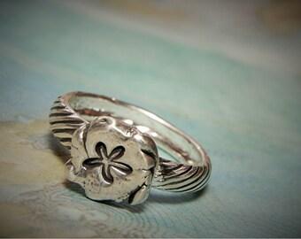 Starfish Jewelry, Tiny Starfish Ring, Sterling Silver Starfish Jewelry, Tiny Nautical Ring, Sea Star Ring Sizes 4 5 6 7 8 9 10 11 12 13 14