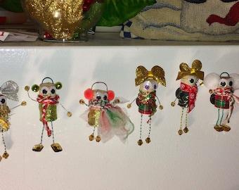 Santa's Little Helper Fridge Magnets