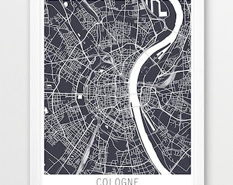 K ln poster etsy for Grafikdesign koln