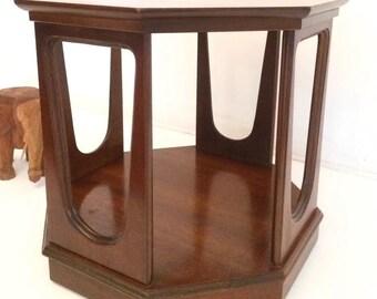Mid Century Modern Danish Eames END Side Table (1) Broyhill Brasilia Eames