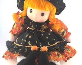 Darling Halloween Doll with Music Box and Moving Head.