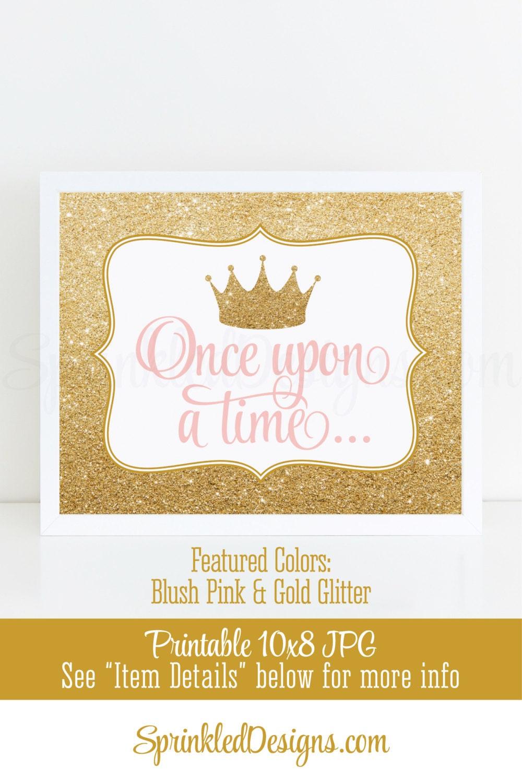 Once Upon A Time Princess Room Decor Princess Birthday