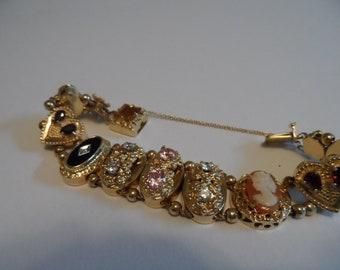 Victorian stlye slide bracelet