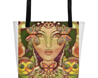 Madam Flutterby Beach Bag