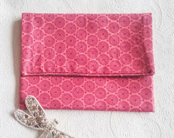 Pink wallet or pouch