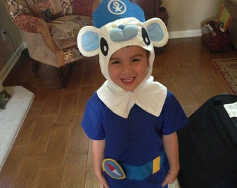 Captain Barnacles Costume sizes 1T - 5T