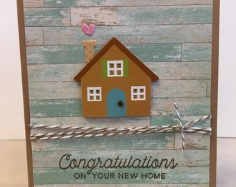 New Home Card, Congratulations New House Card, No Place Like Home