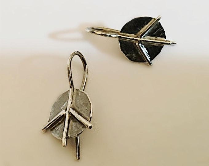 little peace sign earrings