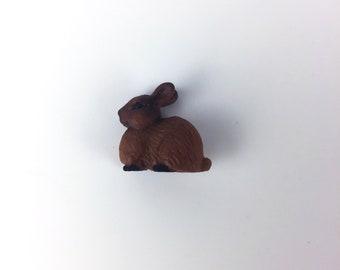 Bunny Terrarium Accessory // Figurine // Miniature