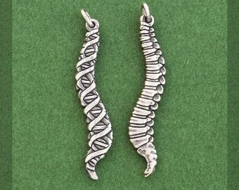 Anatomical Spine Charm