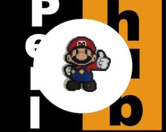 Paper Mario Perler Beads