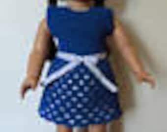 Designer Original Fancy Dress Set #256  for American Girl &18 Inch Soft Body Dolls