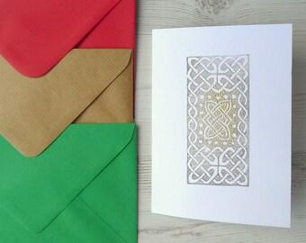 Celtic Knot Card