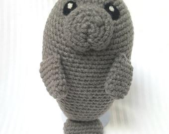 Manatee crochet pattern
