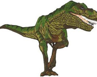 Dinosaur Tyrannosaurus Rex Embroidered Patch 12cm x 9cm