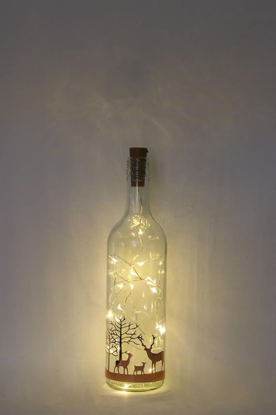 Stag Christmas Decorations Christmas Lights Bottle Light