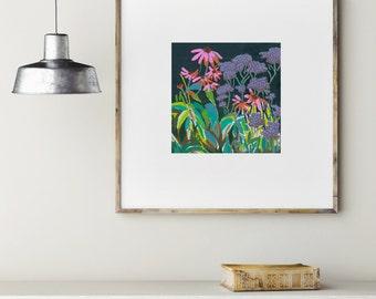 Tredegar / Signed Flower Giclee Print
