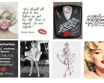 Marilyn Monroe Planner Stickers