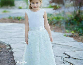 Our signature design Mila two piece set available sizes 1/2 YEARS - 13/14 YEAR