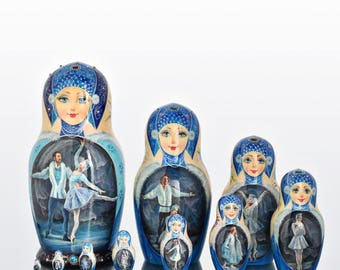 Matryoshka Ballet The Snow Maiden
