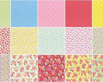 Retro 30's Child Smile Fall 2016 5 inch charm pack origami - By Lecien Japan - Quilt fabric