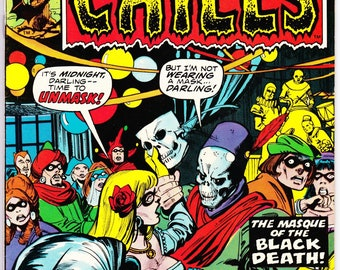Chamber of Chills #16 (1st Series 1972) May 1975  Marvel Comics Grade VF/NM