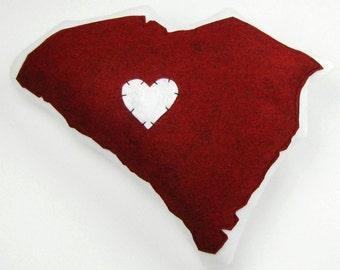 Customizable South Carolina State Pillow