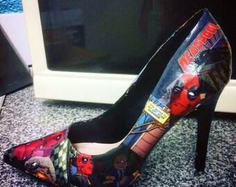 Deadpool shoes