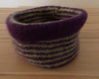 Felted Baskets