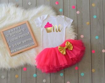 Birthday Cake Smash Outfit 1st Birthday Cupcake Girl Smash Cake Outfit Girl Baby Girl Cake Smash Outfit Outfit Cupcake Birthday Outfit