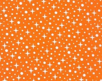 Rhoda Ruth in Orange - by Elizabeth Hartman - Robert Kaufman Fabrics - Fat Quarter, Half Yard or Full Yard - Quilting Fabric
