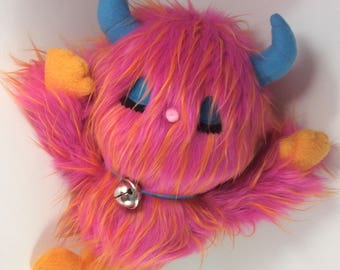 Plush Monster OOAK